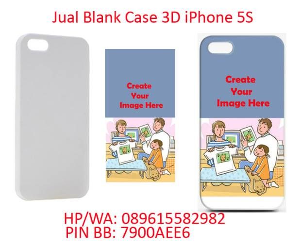 jual casing polos 3D Sublimasi iPhone 5