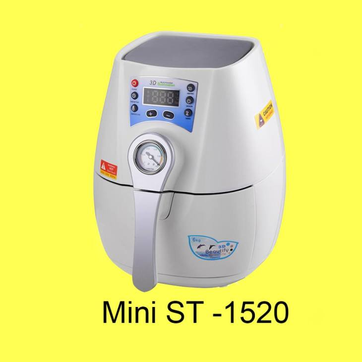 Jual Mesin Vacuum Heat Press Mini ST-1520