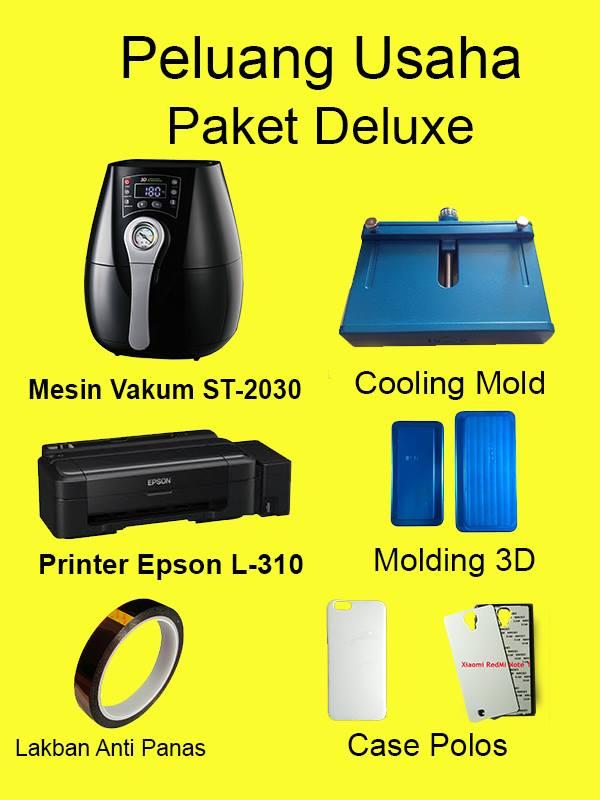 Peluang Usaha Jual Custom Case HP Paket Deluxe