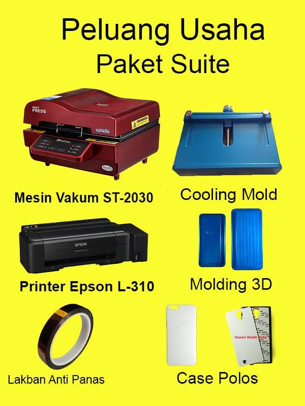 Peluang Usaha Cetak Casing Handphone Paket Suite