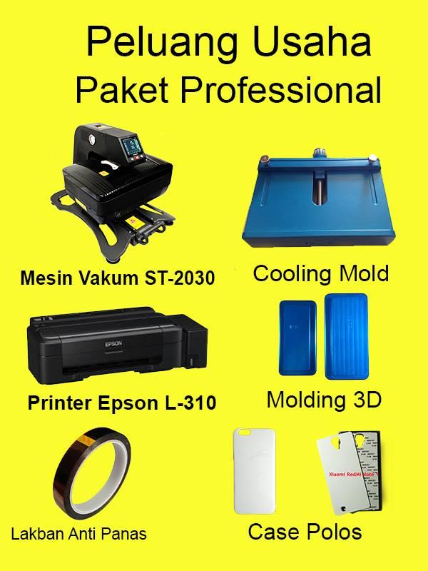 Peluang Usaha Cetak Casing Handphone Paket Professional