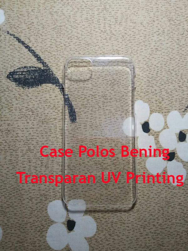 Jual Case Polos Bening Transparan UV Printing