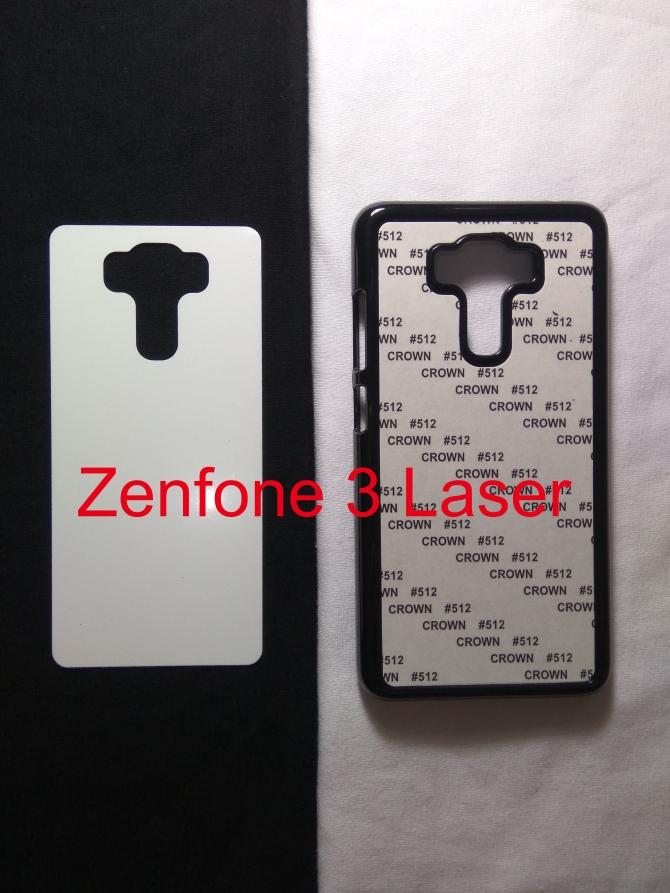 Jual Case Polos 2D Asus Zenfone 3 Laser