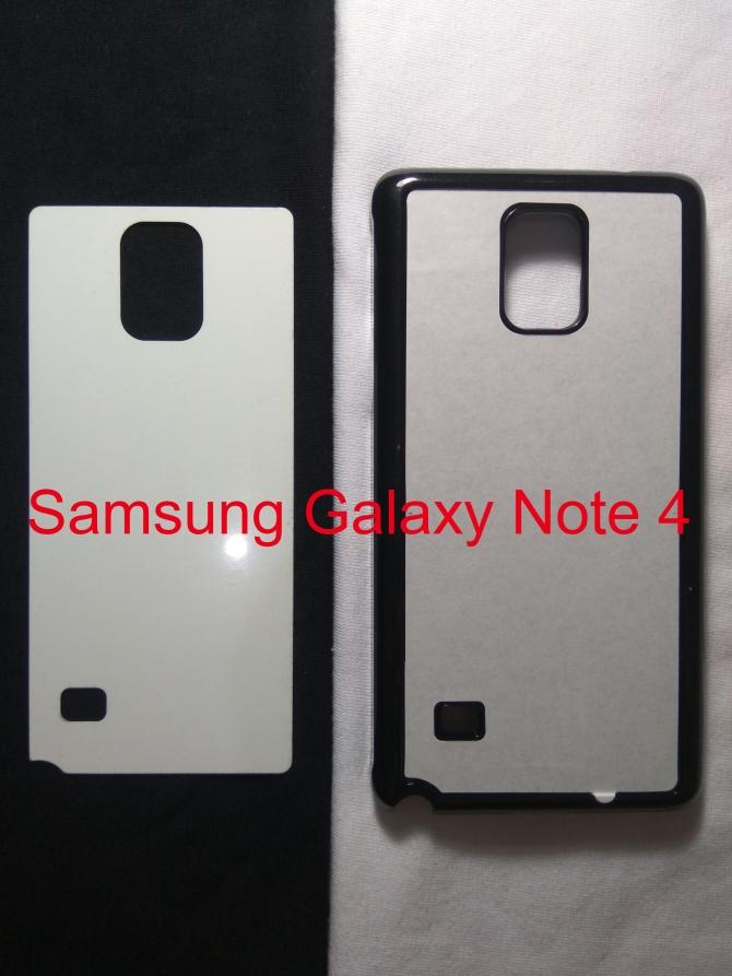 Jual Case Polos 2D Samsung Galaxy Note 4