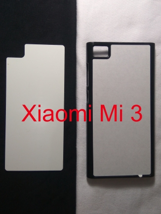 Jual Case Polos 2D Xiaomi Redmi Mi 3