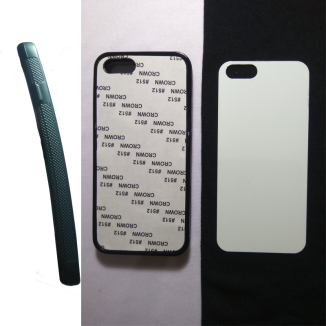 Case Polos sublimasi Karet iPhone 5