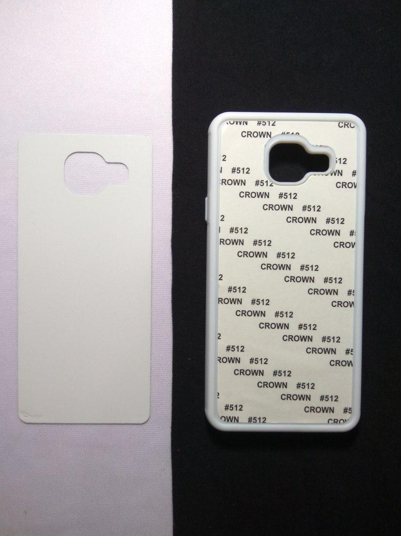 Jual Case Polos Karet 2D Samsung A3 2016