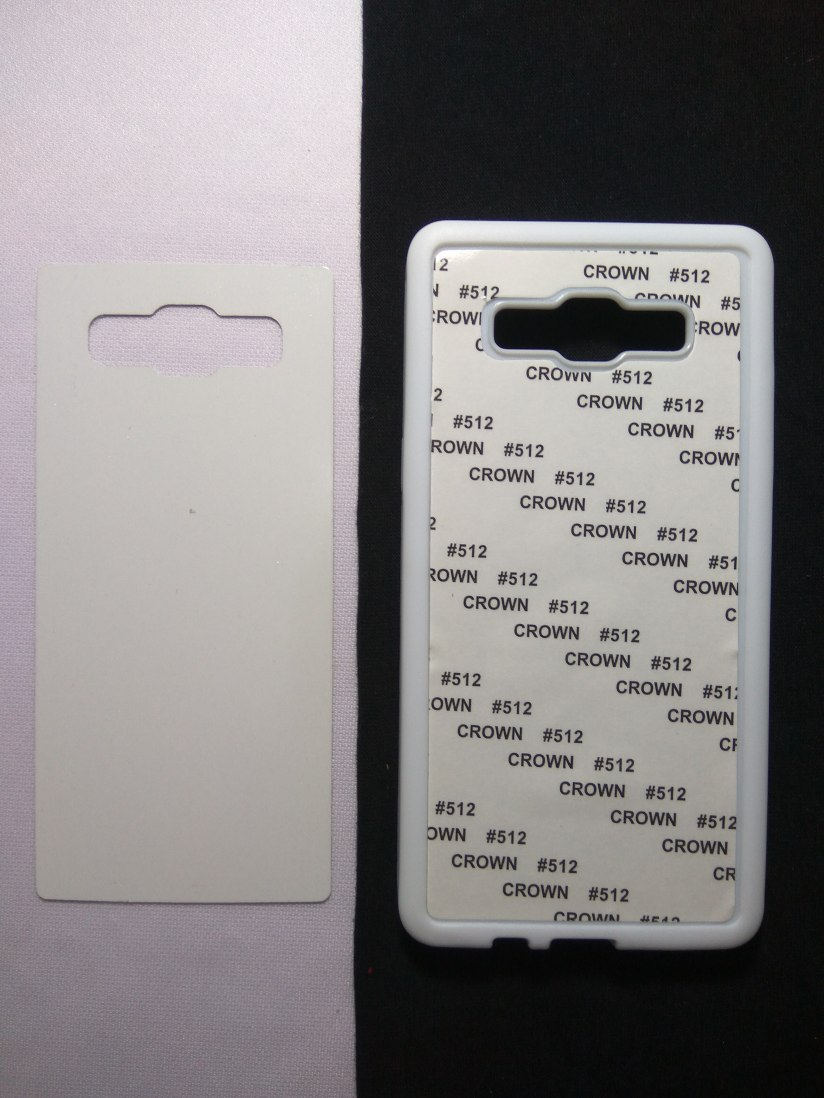 Jual Case Polos 2D Karet Samsung A5 2015 Putih