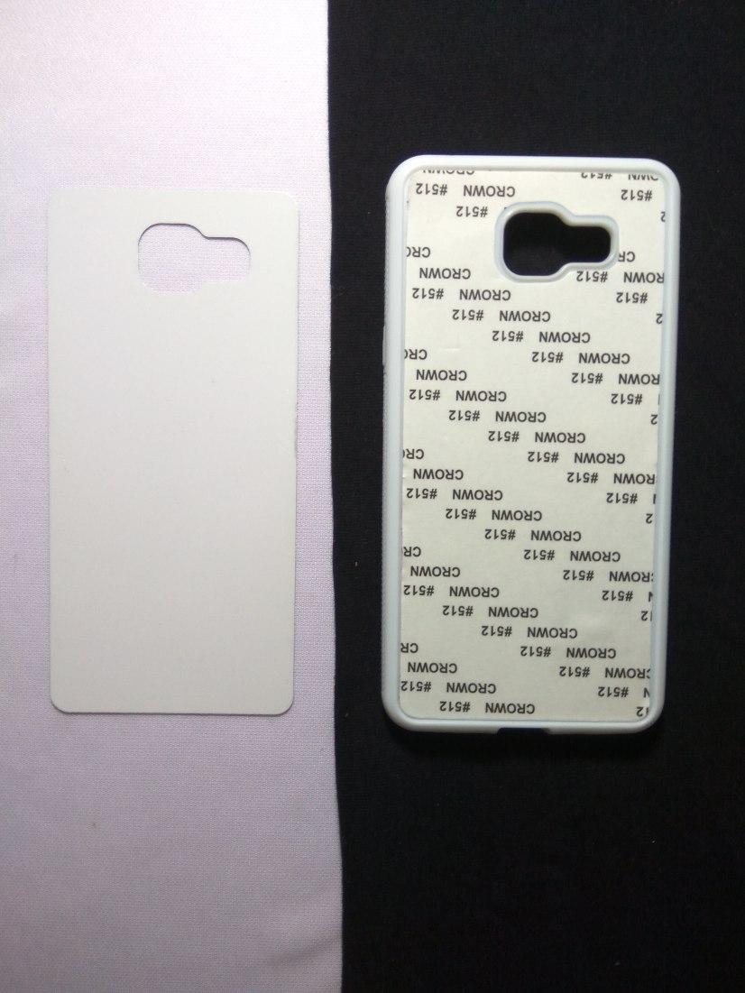 Jual Case Polos 2D Karet Samsung A5 2016 Putih