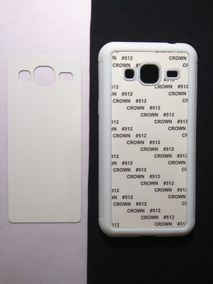 Jual Case Polos 2D Karet Samsung J3 Putih