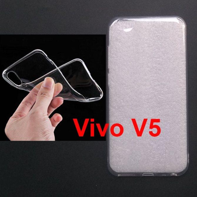 Jual Softcase Polos UV Print Vivo V5