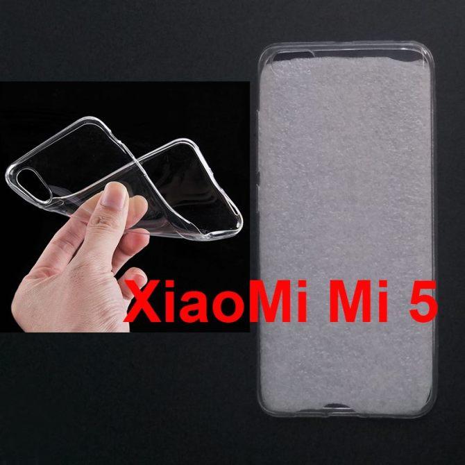 Jual Softcase Polos UV Print Xiaomi Mi5