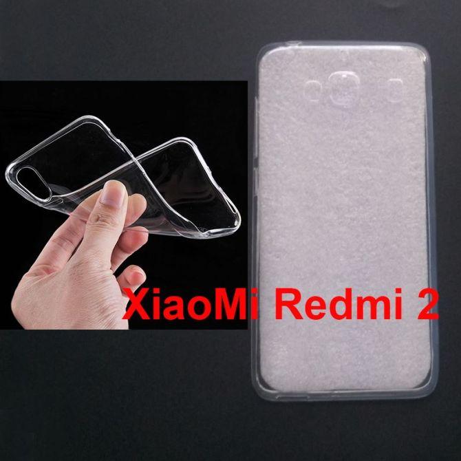Jual Softcase Polos UV Print Xiaomi RedMi 2