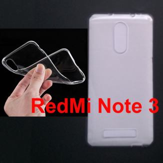 Jual Softcase Polos UV Print Xiaomi RedMi Note 3