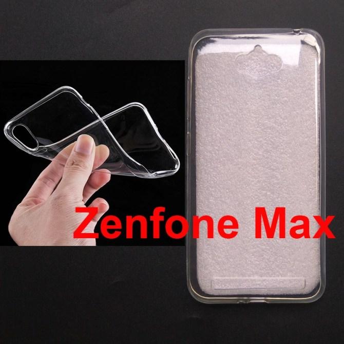 Jual Softcase Polos UV Print Zenfone Max