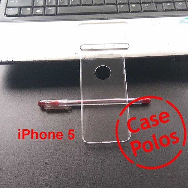 Jual Hard Case Polos UV Print iPhone 5