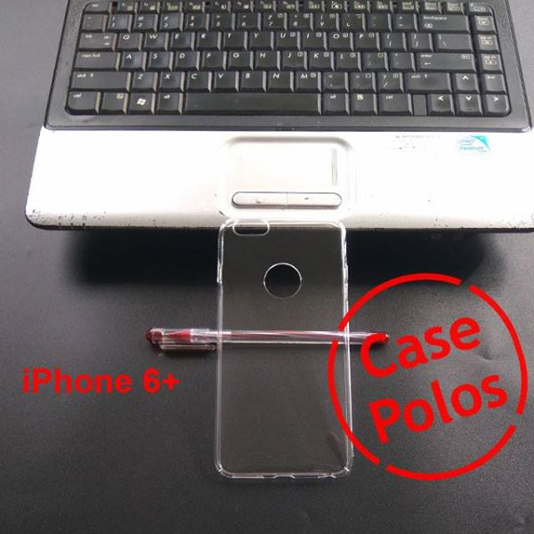 Jual Hard Case Polos UV Print iPhone 6+
