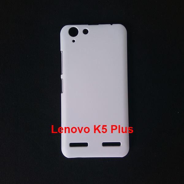 Jual Case Polos 3D Sublimasi Lenovo K5 Plus