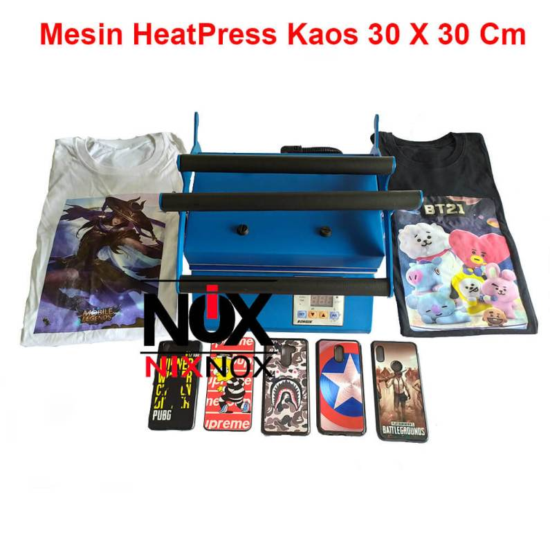 Mesin Press Kaos 30 X 30 Cm